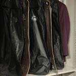 Arquivo deslizante para roupas
